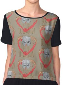 be my dovahkiin Chiffon Top