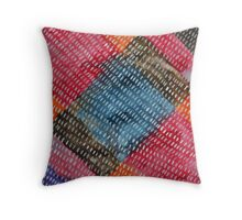 Abstact watercolor spots Throw Pillow