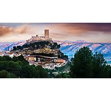 Biar castle at dawn Photographic Print