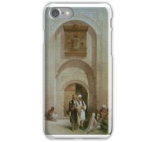 David Roberts Entrance To A Private Mansion iPhone Case/Skin