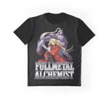 Edward Elric And Alphonse Elric Fullmetal Alchemist Graphic T-Shirt