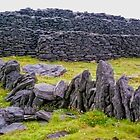 The Black Fort of Inishmore by TonyCrehan