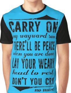 Spn Wayward sons (black version) Graphic T-Shirt