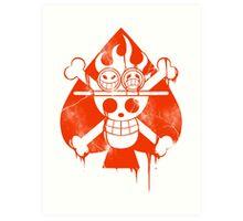 Ace - Spade Pirates Art Print