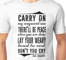 Spn Wayward sons (black version) Unisex T-Shirt