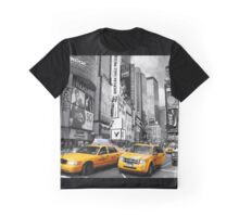 New York City yellow taxi Graphic T-Shirt