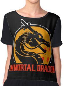 Inmortal Dragon - Shenron parody Chiffon Top