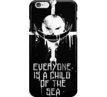 A Child of The Sea - White iPhone Case/Skin