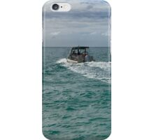 Heading for the island iPhone Case/Skin