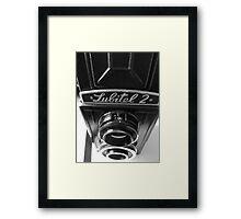Lubitel 2 Framed Print