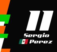 F1 2014 - #11 Perez Sticker