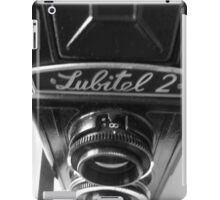 Lubitel 2 iPad Case/Skin