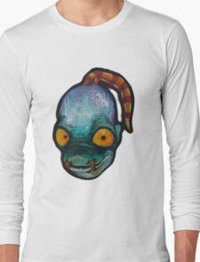 Oddworld: Abe (Acrylic Painting) Long Sleeve T-Shirt