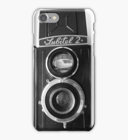 Lubitel 2 Front View iPhone Case/Skin