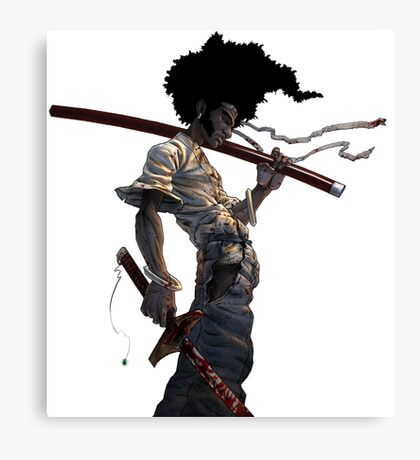 AFRO 9 Canvas Print
