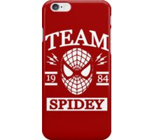Team Spidey iPhone Case/Skin