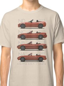 Mazda MX-5 evolution Classic T-Shirt