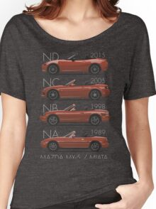 Mazda MX-5 evolution Women's Relaxed Fit T-Shirt