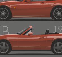 Mazda MX-5 evolution Sticker