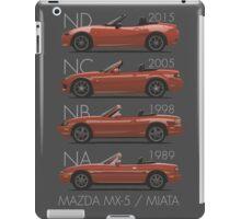 Mazda MX-5 evolution iPad Case/Skin