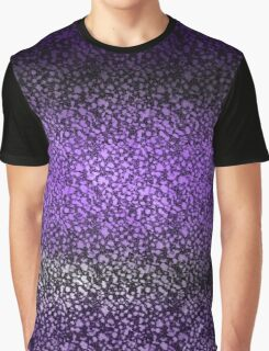Deep Purple Stain Glass Graphic T-Shirt