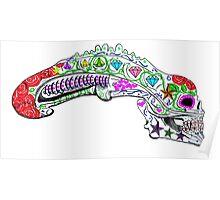 xenomorph sugar skull Poster