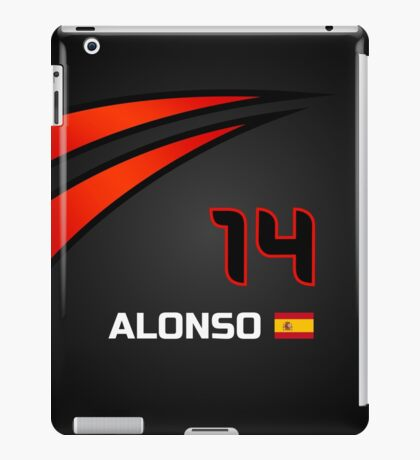 F1 2015 - #14 Alonso [revised] iPad Case/Skin