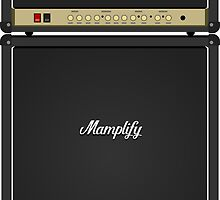 Mamplifier Guitar Amp Stack by d13design