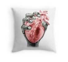 Death Grip Throw Pillow