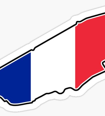 Circuit de la Sarthe Sticker