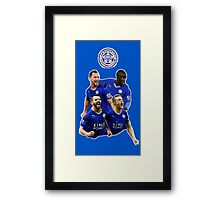 Leicester City - Squad Framed Print
