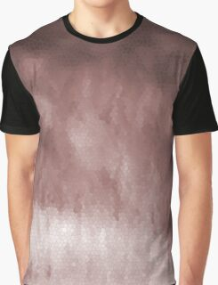 Shades of Brown Stain Glass Graphic T-Shirt