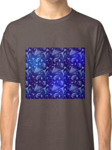 Blue Space Map Classic T-Shirt