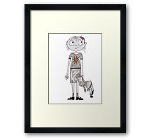 Violet Pumpernickel Framed Print