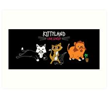 TPB Kittyland Love Art Print