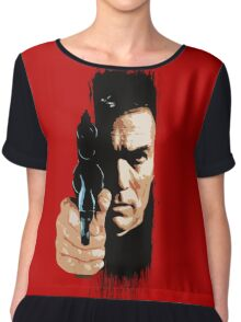 Clint Eastwood - Tightrope Chiffon Top