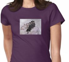 Ladies of the Hunt Womens Fitted T-Shirt