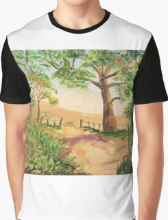 """""""At the Edge of the Woods"""" Graphic T-Shirt"""