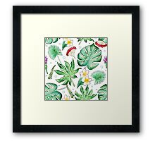 Tropic is about here! Framed Print