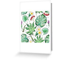 Tropic is about here! Greeting Card