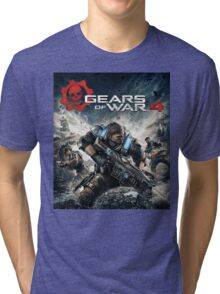 GEARS OF WAR 4 [4K]  Tri-blend T-Shirt