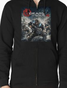 GEARS OF WAR 4 [4K]  Zipped Hoodie