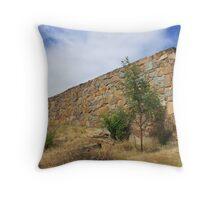 Stone Wall - Launceston, Tasmania 2013 Throw Pillow