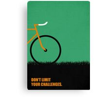 Dont Limit Your Challenges Corporate Start-up Quotes Canvas Print