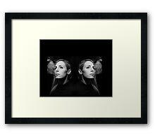 Eva De Costes - Faces Framed Print