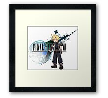 chibi cloud Framed Print