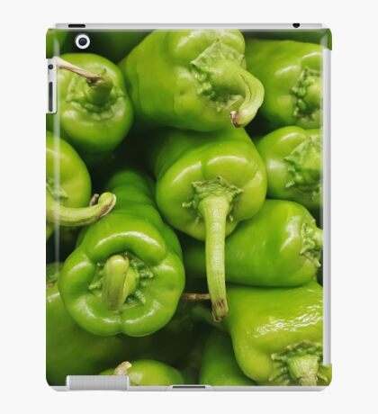 Green chillies iPad Case/Skin