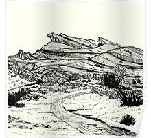 Desert Landscape 02 Poster