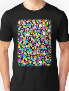 Polka Dots Psychedelic Colors T-Shirt