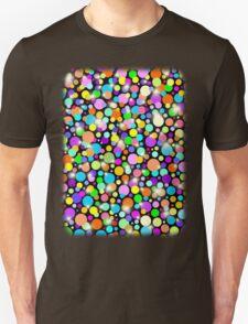 Polka Dots Psychedelic Colors T-Shirt